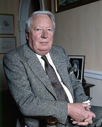 Edward Heath - Heath in 1987 by Allan Warren
