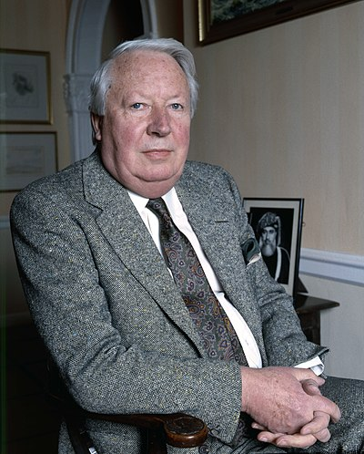 Edward Heath, former Prime Minister of the United Kingdom