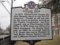 Edward Shaw marker Walker Ave Dr Hollis F Price St Memphis TN.JPG