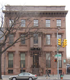 Philadelphia School of Design for Women - Edwin Forrest House, formerly the home of the Philadelphia School of Design for Women.