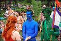 Eeyore's Birthday Party 2009 Red Blue Green.jpg