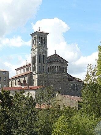 Église Notre Dame (Clisson) - Image: Eglise Notre Dame de Clisson