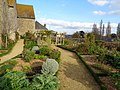 Eglise Saint-Jean de Lamballe (Côtes d'Armor), jardin médiéval DSC06850.jpg