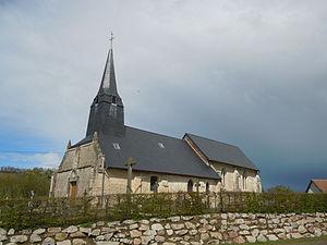 Angerville, Calvados - Image: Eglise d'Angerville Calvados
