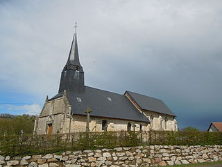 Angerville, Calvados Commune in Normandy, France