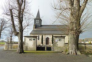 Arrien - Image: Eglise d'Arrien (Pyrénées Atlantiques) vue 4