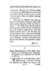 Einige Anmerkungen zu dem Plan einer Anstalt zu Versorgung der Wittwen, S. 691-698