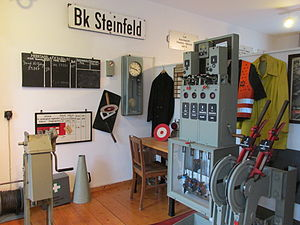 Vienenburg station - View of the collection of the railway museum