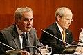 El president, José Montilla, i el conseller d'Educació, Ernest Maragall.jpg