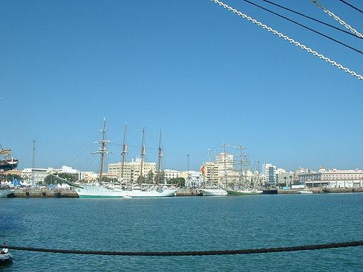 Elcano en Cadiz