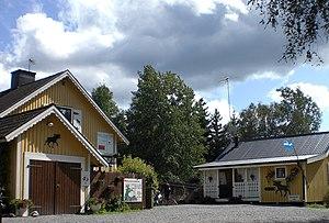 Grönåsens Älgpark - Entrance