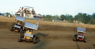 Eldora Speedway - Sprint cars racing in 1986