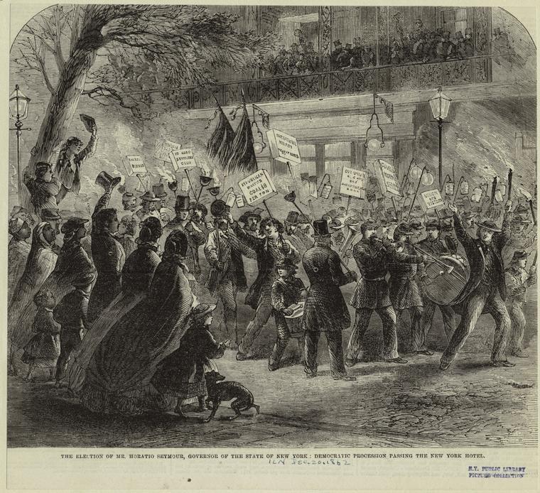 Election of Horatio Seymour