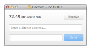Bitcoin - Electrum bitcoin wallet