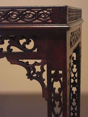 Thomas Elfe - Image: Elfe china table