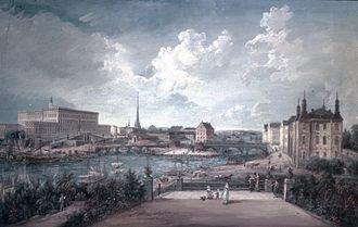 1800 in Sweden - Elias Martin