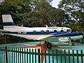 Embraer EMB 110 Bandeirante at Parque Santos Dumont (São José dos Campos, Brazil).jpg