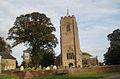 Emneth, village sign and parish church. - geograph.org.uk - 70409.jpg
