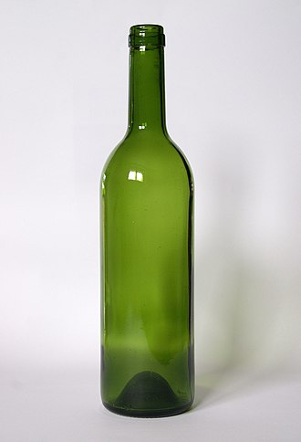 Glossary of wine terms - An empty wine bottle