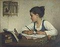 Enfant écrivant-Henriette Browne.jpg