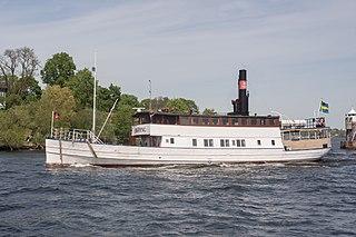 MV <i>Enköping</i> listed historical ship in Sweden