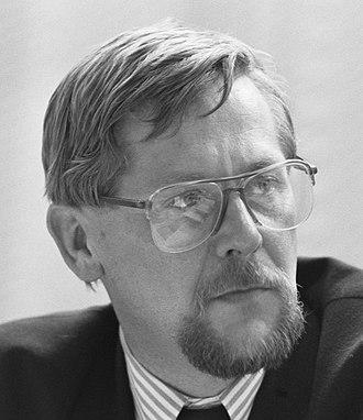 Leader of the Christian Democratic Appeal - Enneüs Heerma
