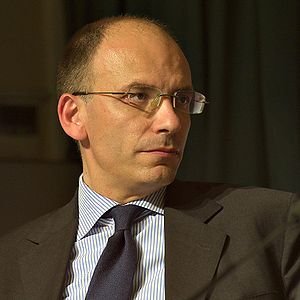 Enrico Letta at the Trento 2009 Economics Fest...