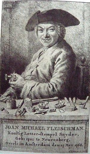 Joan Michaël Fleischman - Image: Enschede Cornelis van Noorde Joan Michael Fleischman 1769