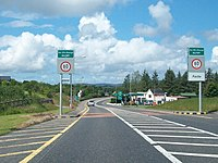 Entering Ballyvary on the N5 (geograph 2711882).jpg