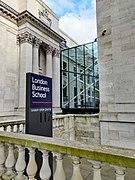 Entrance and Sign, Sammy Ofer Centre, London Business School.jpg