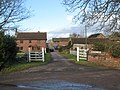 Entrance to Strete Raleigh Farm - geograph.org.uk - 1701378.jpg