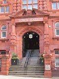 Entrance to Wigan Town Hall.jpg