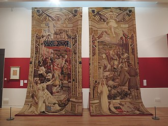 Alan II, Duke of Brittany - Tapestries depicting Henry IV of France and Alan II, Duke of Brittany