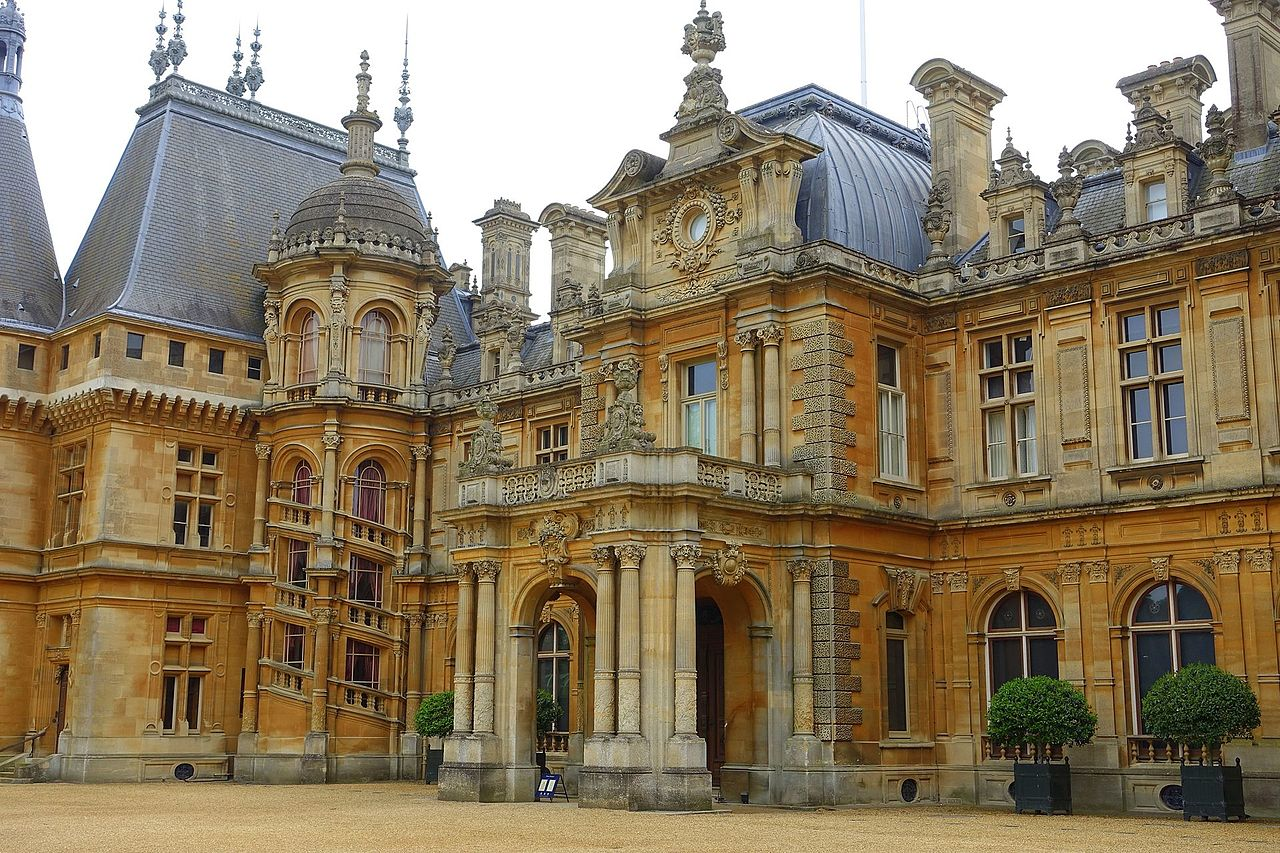 File Entryway Waddesdon Manor Buckinghamshire England