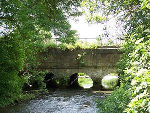 Erewash Canal - Erewash Aqueduct near Shipley Gate in 2007