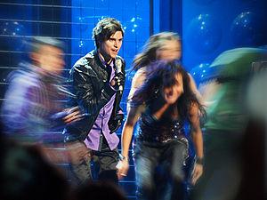 Eric Saade - Saade at Melodifestivalen 2010