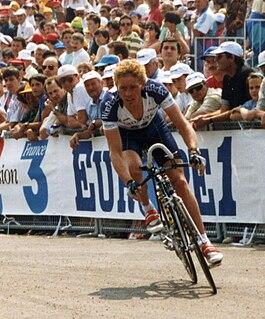 Eric Vanderaerden Belgian cyclist