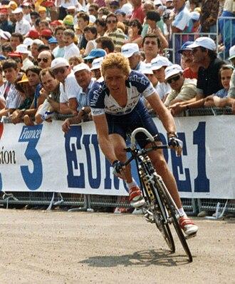 Eric Vanderaerden - Vanderaerden at the 1993 Tour de France