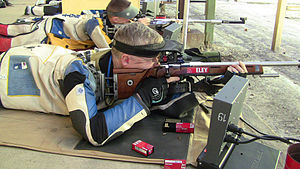 ISSF 50 meter rifle prone