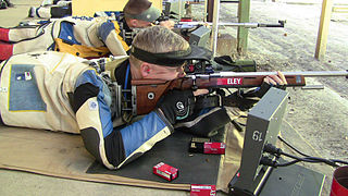 ISSF 50 meter rifle prone
