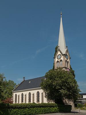 Erlenbach, Switzerland - Image: Erlenbach, de protestantse kerk KGS10374 foto 5 2014 07 19 11.14