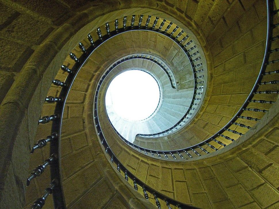 Escaleira do Museo do Pobo Galego
