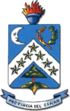 Coat of arms of Cañar