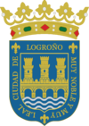 Official seal of Logroño