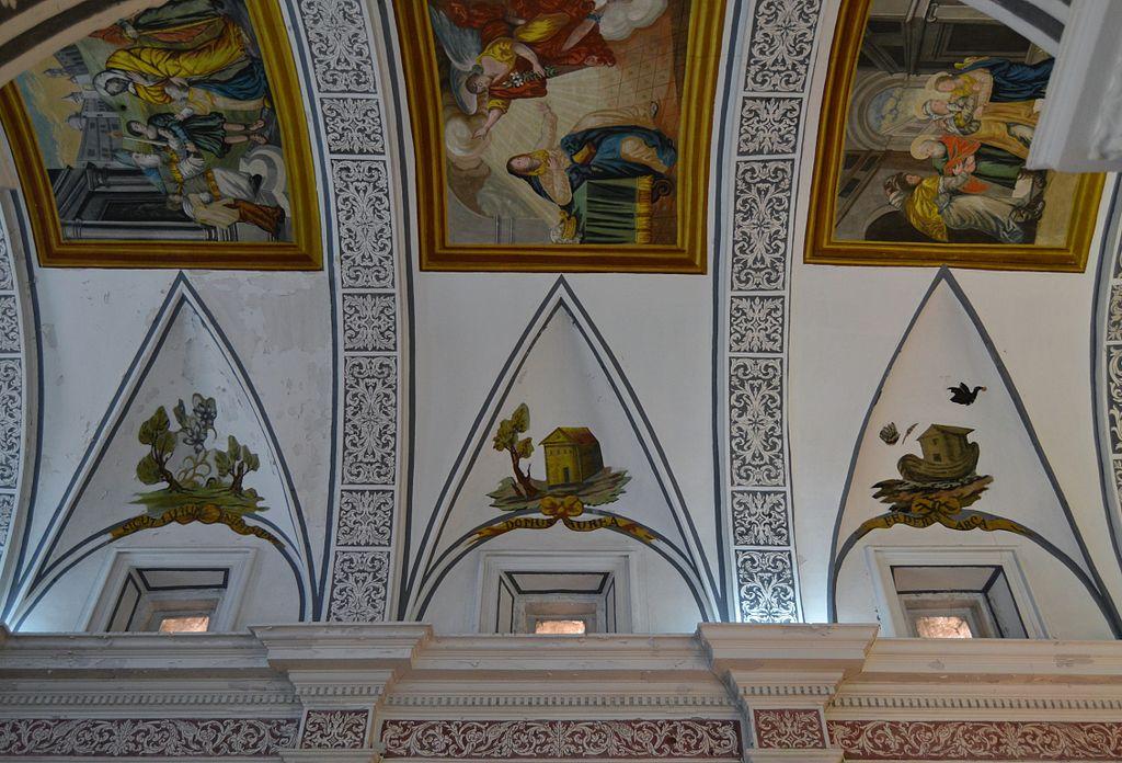File:Església de la Mare de Déu dels Àngels de Benavites, llunetes.JPG - Wiki...