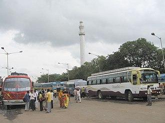 Esplanade, Kolkata - Image: Esplanade Bus Station