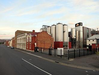 Boag's Brewery - Boag's Brewery buildings in 2015