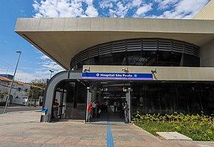790ff4971347 Estação Hospital São Paulo – Wikipédia, a enciclopédia livre