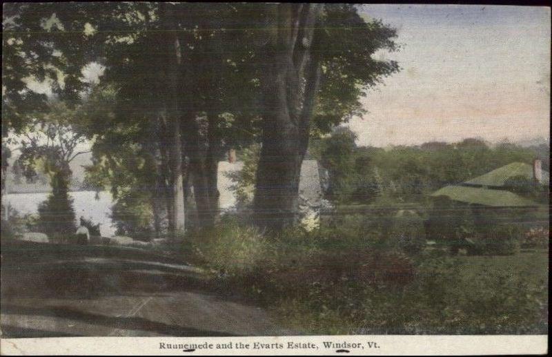 File:Estate of William M. Evarts in Windsor, Vermont, known as Runnemede.jpg