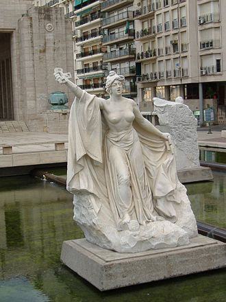 Lola Mora - Image: Estatuas de Lola Mora 2